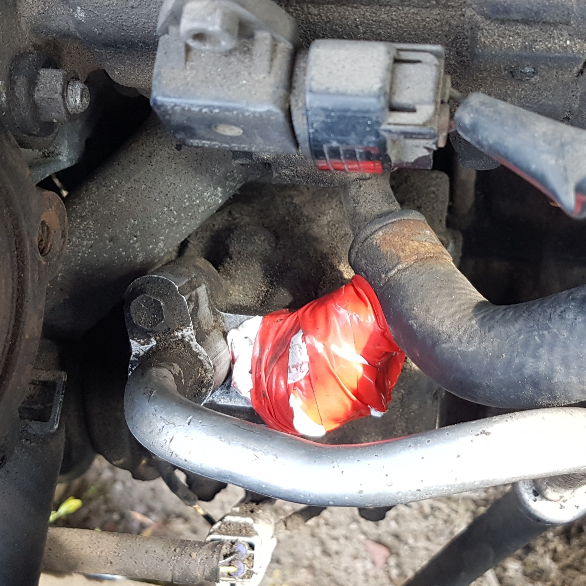 Ремонт шланга кондиционера авто