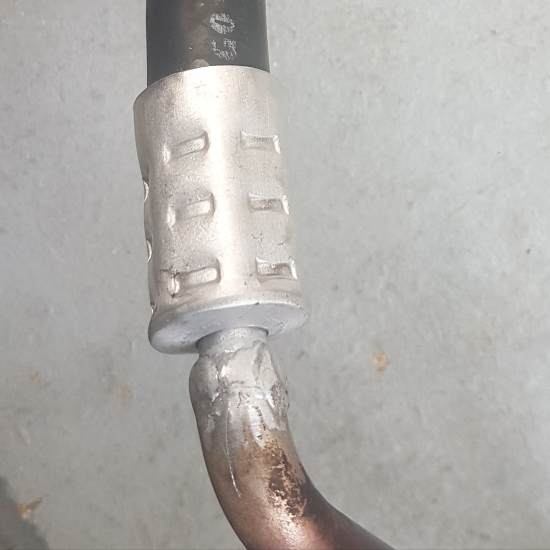 Замена шланга кондиционера