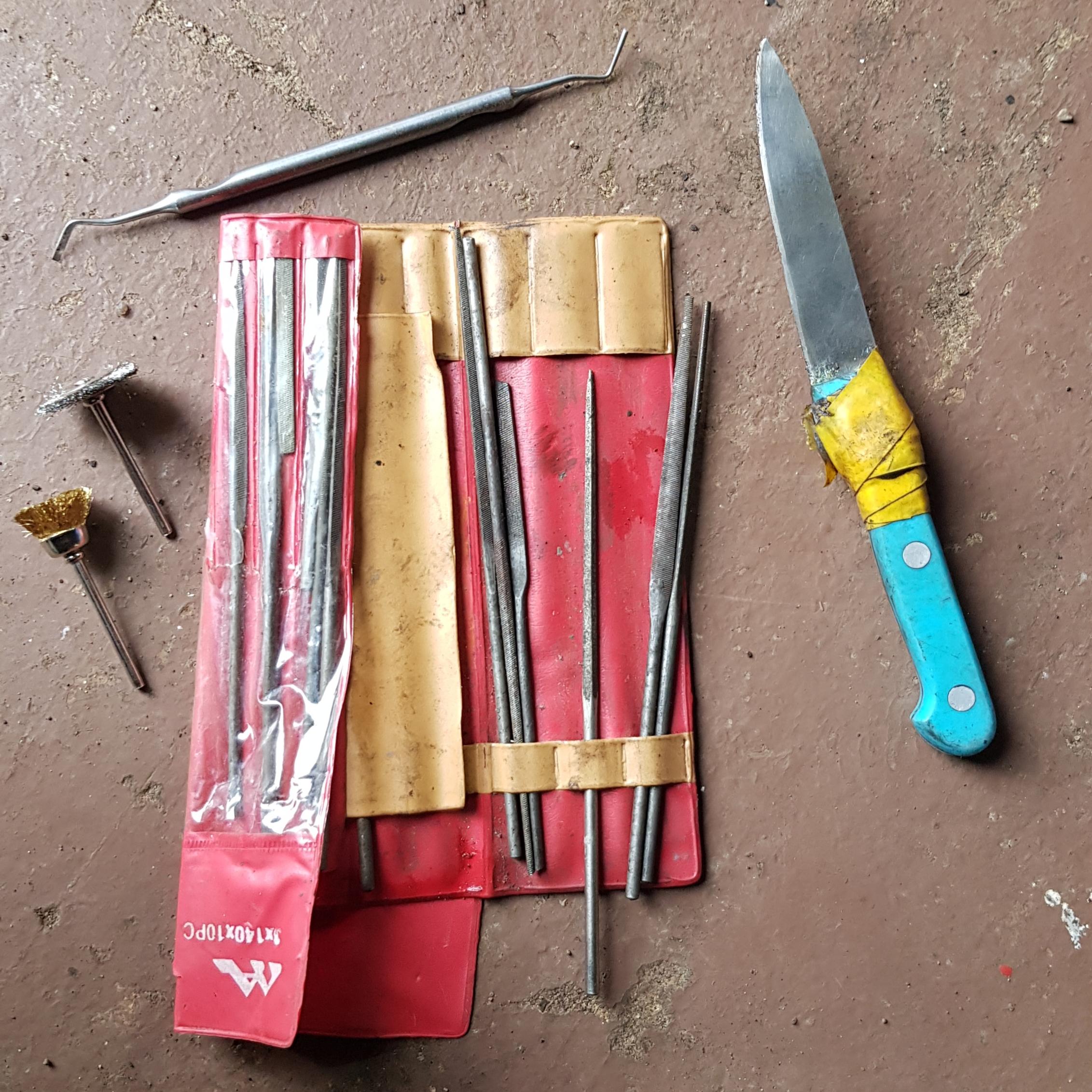 Инструмент очистки штуцера